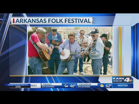 Arkansas Folk Festival April 19-20