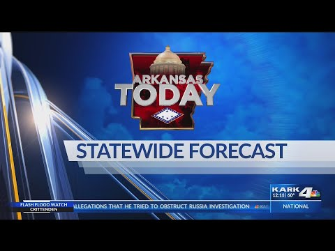 Arkansas statewide forecast for April 18