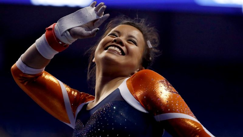 Auburn gymnast suffers gruesome leg injuries during competition