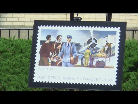 Piggott Postage Stamp