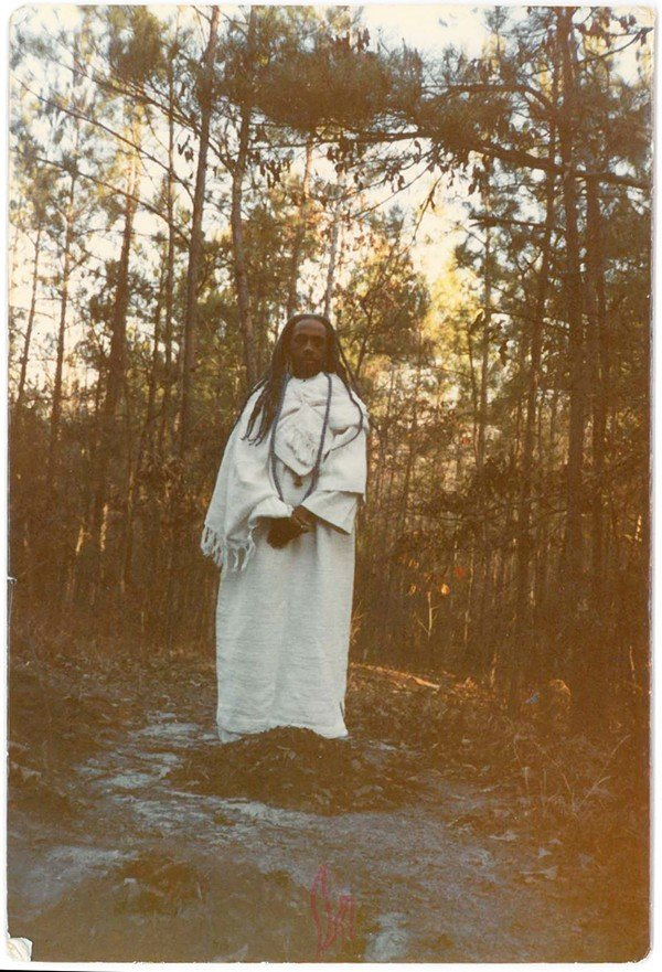 IN MISSISSIPPI: Rev. Kedem is shown in the picture at right at the Mississippi commune in 1984. - COURTESY SHAKEENAH KEDEM-FENTIS