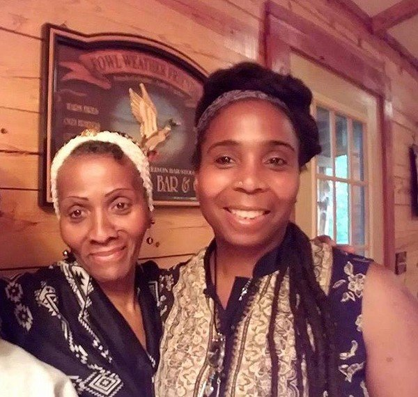 FAMILY: Joyce Jones (left) was advised by a cult deprogrammer not to intervene in the decision by her daughter, Shakeenah Kedem-Fentis (right), to join the commune. - COURTESY SHAKEENAH KEDEM-FENTIS