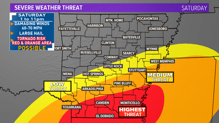 Severe weather expected, stay weather aware and in-the-know