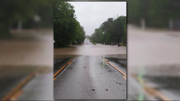 Traffic Alert – Please avoid the following roadways due to flooding