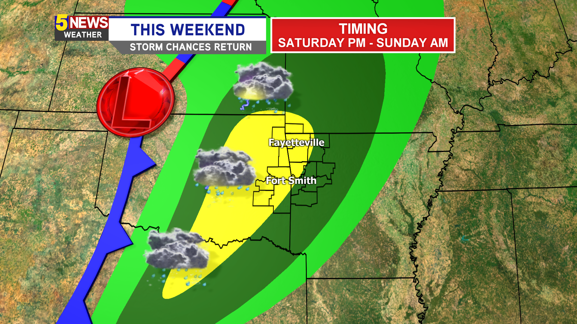 Early Look At Weekend Storm Potential