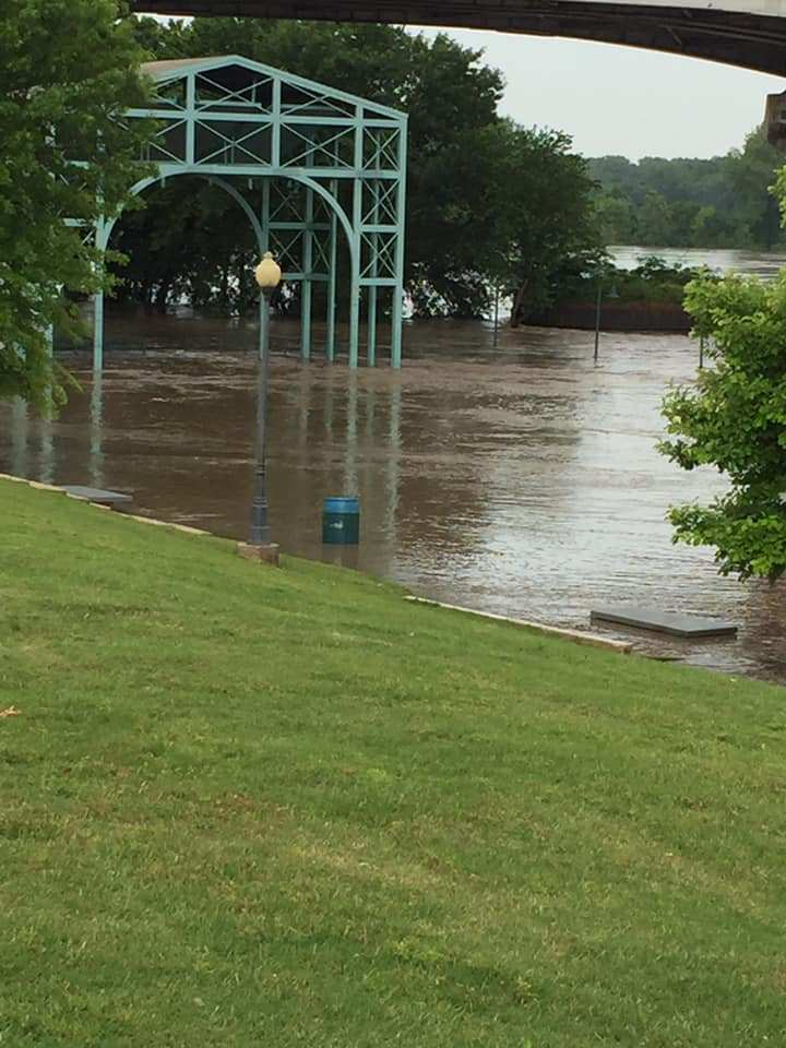 River Valley Roads Still Closed Due To Arkansas River Flooding