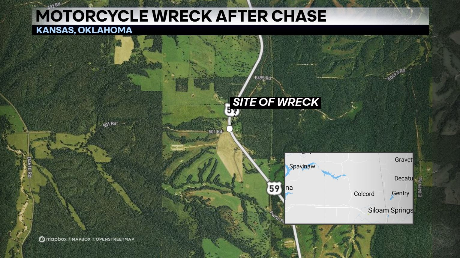Arkansas Man Injured In Oklahoma Motorcycle Accident After High-Speed Chase