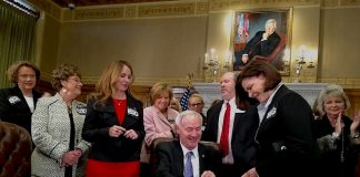 Governor signs juvenile justice reform bill and four others from Republican women