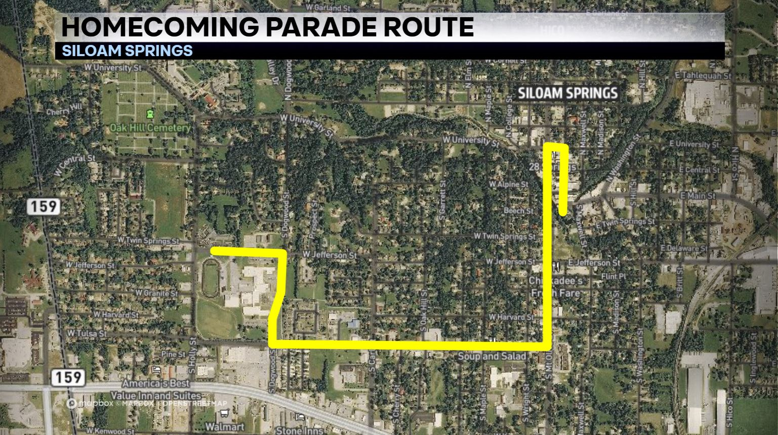 Rogers, Siloam Springs Holding Homecoming Parades Today