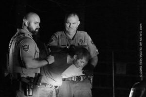 Fleeing Parolee Allegedly Runs..Gets Zapped Back Into Compliance; Felony Arrest – GARLAND COUNTY