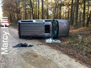 Rollover Injury Crash On Old Dallas Road – GARLAND COUNTY