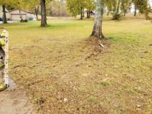 Lightning Strike Blows Out Driveway On Gillwood Road – GARLAND COUNTY