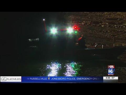 VIDEO: Man jumps off bridge