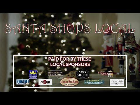 VIDEO: Santa Shops Local: Down South