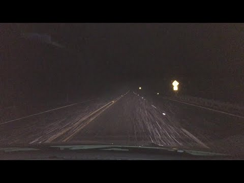 VIDEO: Snow in Searcy County