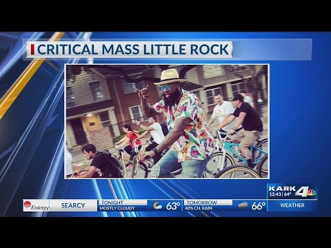 VIDEO: Critical Mass Bike Ride