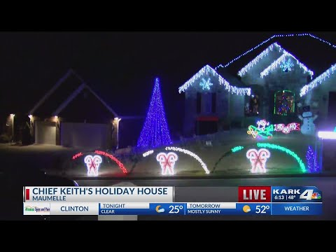 VIDEO: Holiday House Contest winner in Maumelle, Part 3