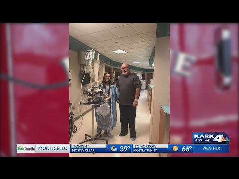 VIDEO: Maumelle fire chief donates kidney to 8-year-old girl