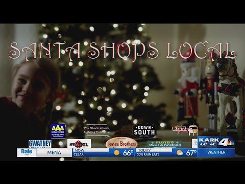 VIDEO: Santa Shops