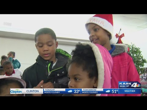 VIDEO: Sponsors provide Christmas gifts to over 300 families