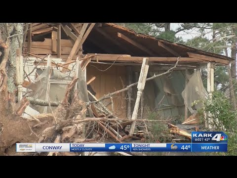 VIDEO: Drew County storm damage