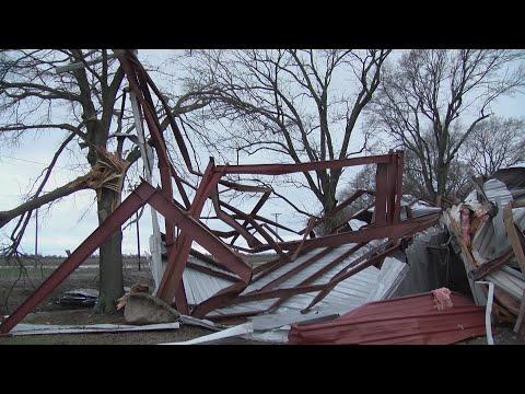 VIDEO: EF-1 tornado hits Lonoke County