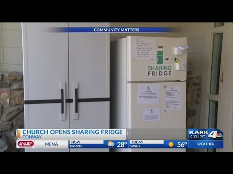 VIDEO: Local church helping hungry get pre-cooked food on the go