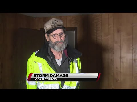 VIDEO: Midway Fire Chief talks about Logan Co. storm damage