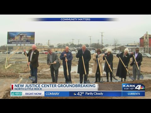 VIDEO: North Little Rock Justice Center Ground-breaking