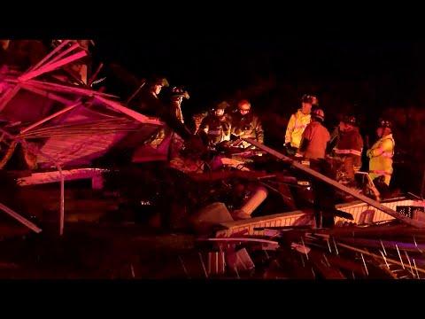 VIDEO: Oil City weather damage