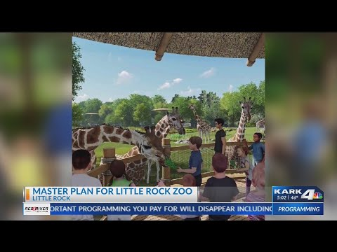VIDEO: Task force reveals master plan on what could come to the LR Zoo