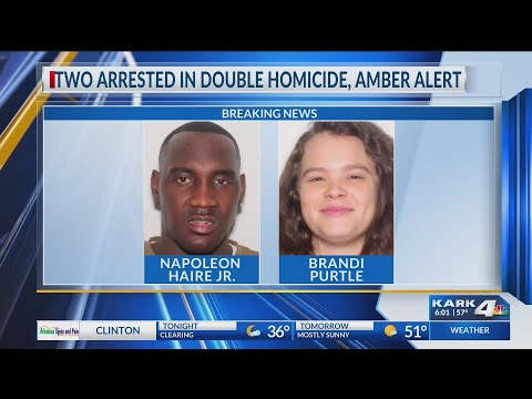 VIDEO: Update: Two arrested in Sherwood double homicide and Amber Alert, one named as person of interest