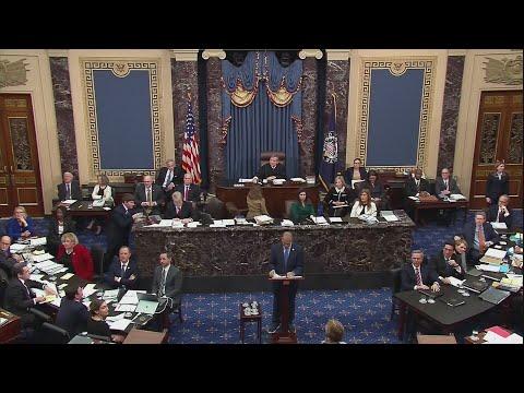 Watch: 24 hours in, senators flout quaint impeachment rules