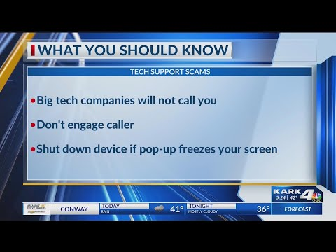 Watch: AARP warns about tech support scams