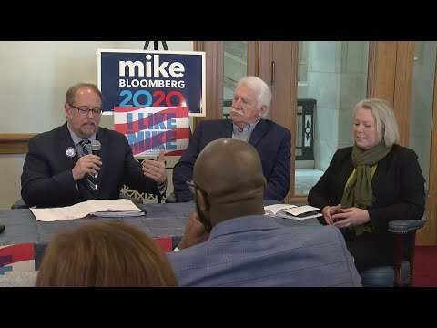 Watch: Arkansas environmental roundtable in support of Mike Bloomberg