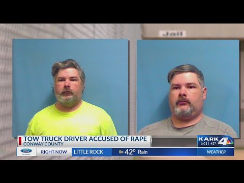Watch: Arkansas tow truck driver accused of raping young girl