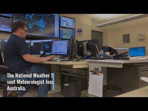 Watch: Digital Original: AR Meteorologist helps Australian first responders battle ongoing wildfires