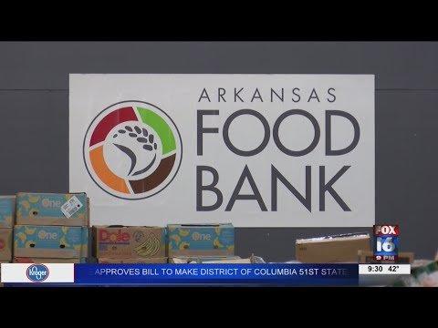 Watch: AR Foodbank beats previous distribution record