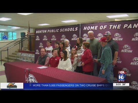 Watch: Benton Signing Day