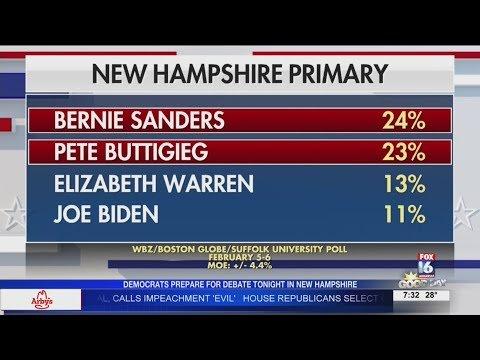 Watch: Democrats prepare for 'fiery' NH debate as urgency rises