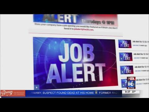 Watch: Job Alert 02-20-20