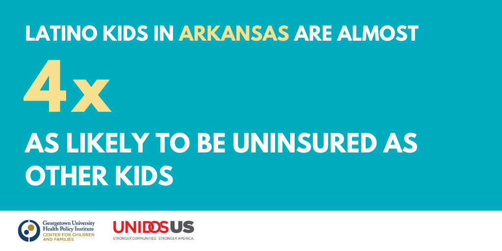 Arkansas's Latino Children Nearly Four Times More Likely to be Uninsured