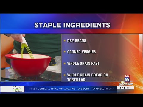 Watch: Healthy Eating with the American Heart Association