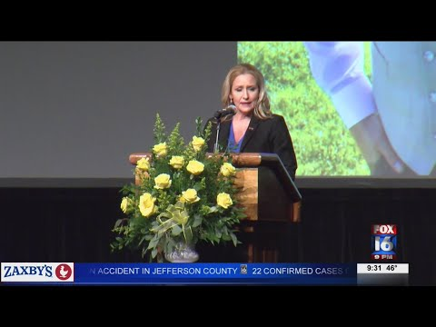 Watch: Honoring the life of Hot Springs Police Officer killed in the line of duty