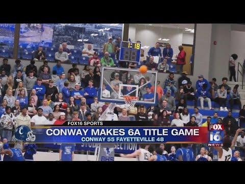Watch: Recapping Arkansas Basketball 6A State Semifinals