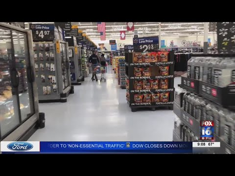 Watch: Stores still low on supplies due to COVID-19 epidemic