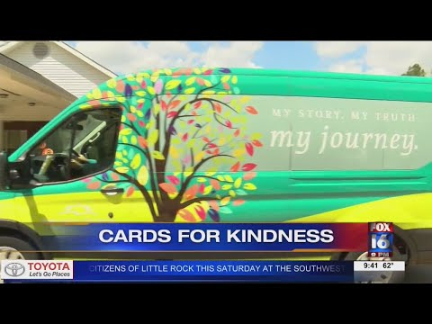 Watch: Arkansas Hospice delivers 'Cards for Kindness' to Benton nursing home