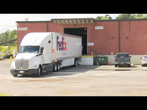 Watch: Arkansas receives six semi-trucks full of PPE