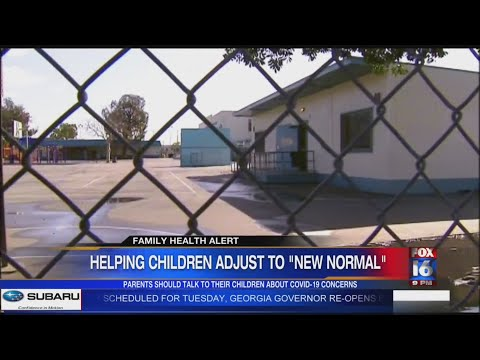 Watch: Family Health: Helping Children adjust to 'new normal'