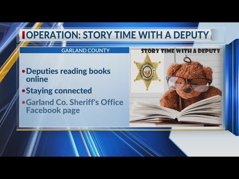 Watch: Garland County Sheriff's staying connected to kids in community